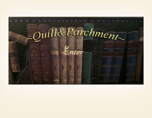 Quill and Parchment Home Splash Picture